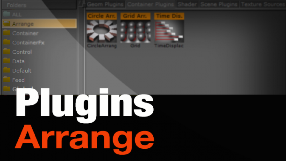Plugins – Arrange Pod