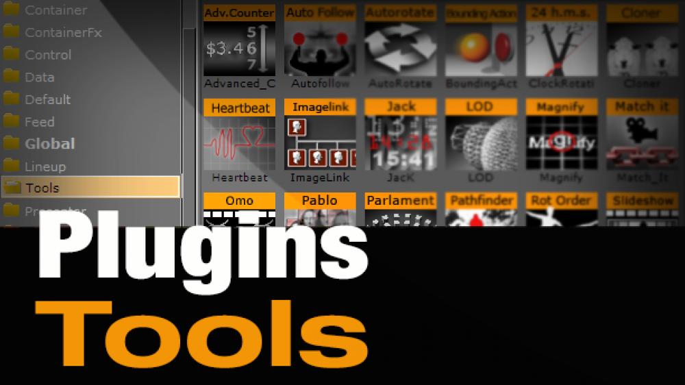 Plugins – Tools Pod