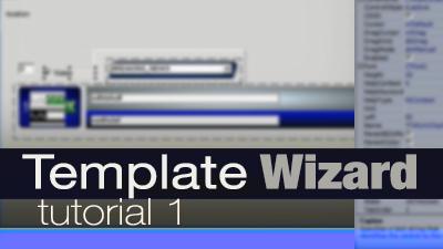 template wizard